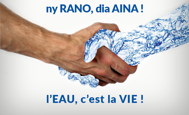 Visuel du projet ny RANO, dia AINA ! (L'eau c'est la vie)
