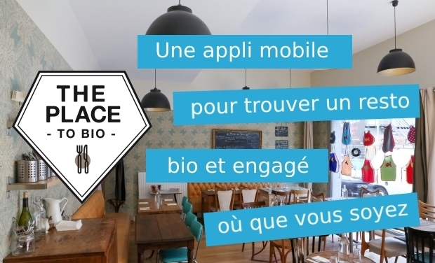 Project visual The Place to Bio : l'appli mobile des restos engagés