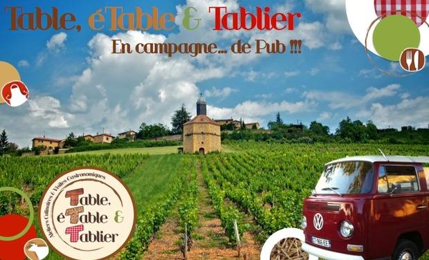 Visuel du projet Table, éTable & Tablier en campagne... de Pub !
