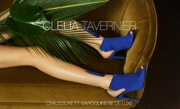 Visuel du projet CLELIA TAVERNIER : Chaussure et maroquinerie de luxe