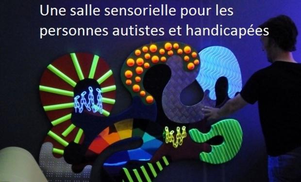 Project visual Salle sensorielle pour autistes et handicapés