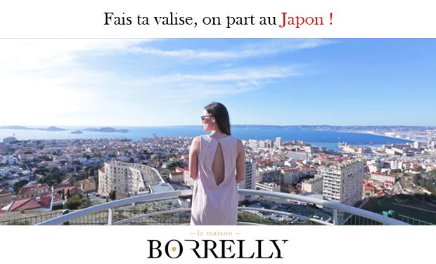 Project visual Fais ta valise, on part au Japon !