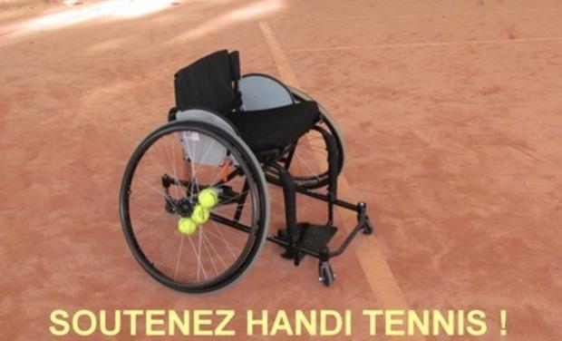 Visuel du projet SOUTENEZ HANDI TENNIS !
