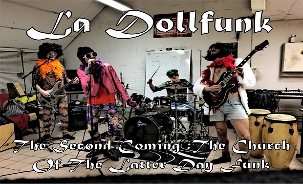 "Visuel du projet La DollFunk - Nouvel Album : ""The Second Coming: The Church of The Latter-Day Funk"""