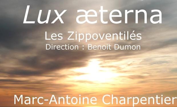 Visueel van project Concerts LUX AETERNA Marc-Antoine Charpentier