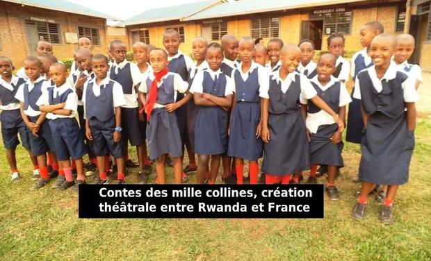 Visuel du projet Contes des mille collines, théâtre entre Rwanda et France