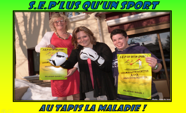 Project visual S.E.P'lus qu'un sport : Au tapis la maladie !