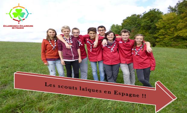 Project visual Les scouts laïques en Espagne