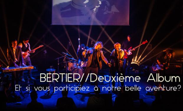 Visuel du projet Nouvel Album de BERTIER