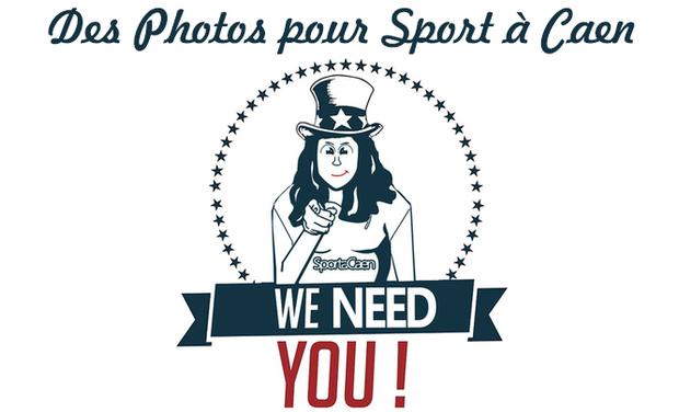 Visuel du projet Des Photos pour Sport à Caen