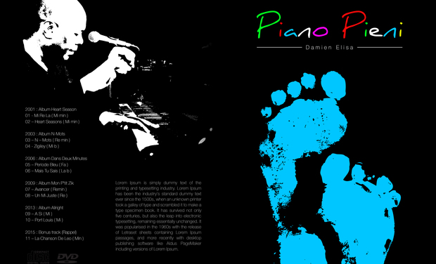 Project visual Damien Elisa  - Coffret Cd & Dvd Piano Pieni