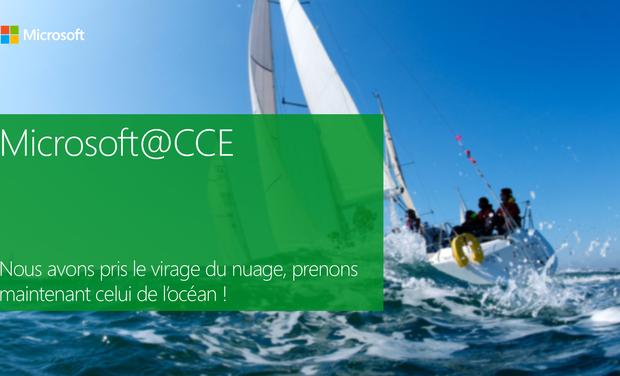 Project visual Microsoft x EDHEC à la Course Croisière
