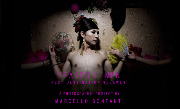 Project visual BEAUTIFUL MEN: next destination Sulawesi.