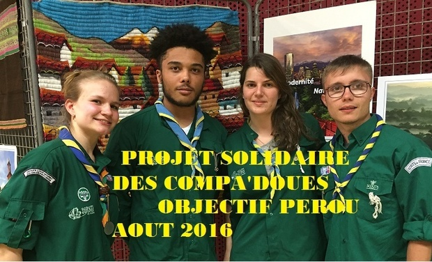 Visueel van project Objectif Pérou mission solidaire SGDF