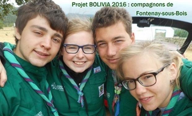 Project visual Projet BOLIVIA 2016, les compas en route avec Cœur de Forêt !