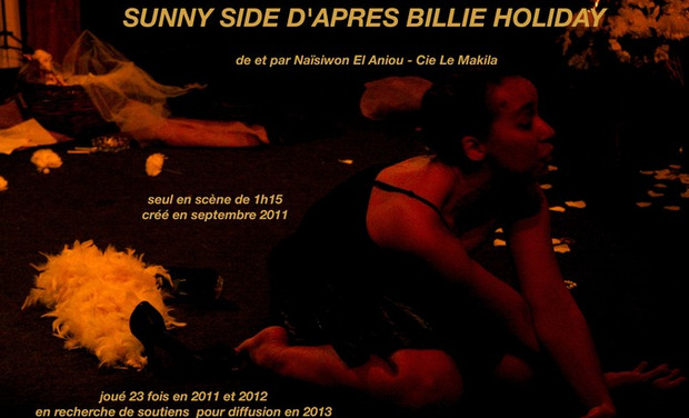 Visuel du projet SUNNY SIDE D'APRES BILLIE HOLIDAY