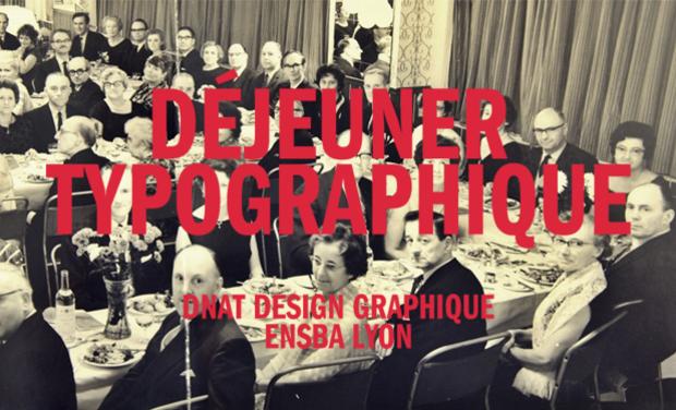 Visuel du projet Déjeuner Typographique