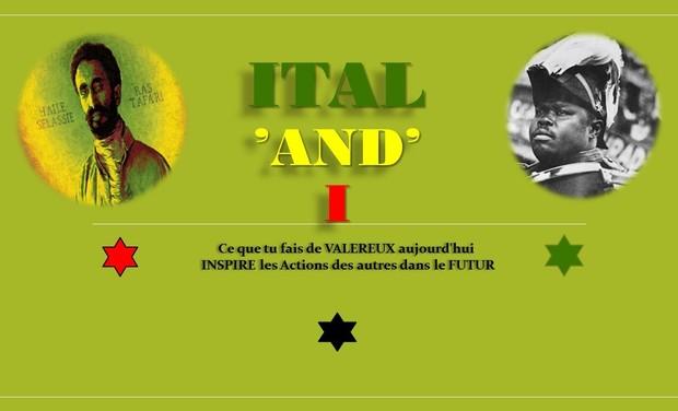 Visueel van project ITAL 'and' I l'Afrique à Travers RASTAFARI