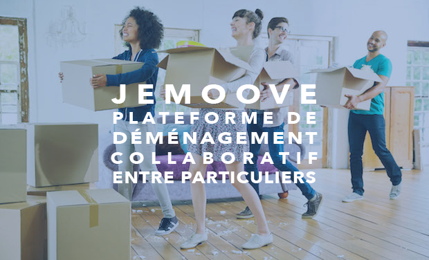 Project visual JeMoove - Le déménagement collaboratif entre particuliers