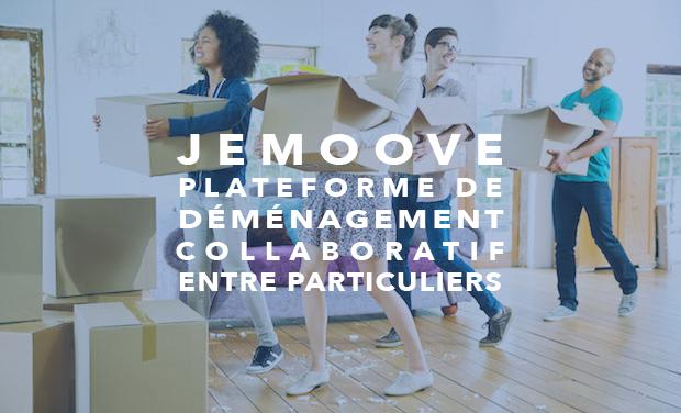 Visuel du projet JeMoove - Le déménagement collaboratif entre particuliers