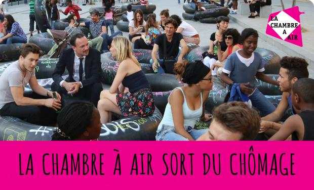 Visuel du projet LA CHAMBRE A AIR SORT DU CHÔMAGE