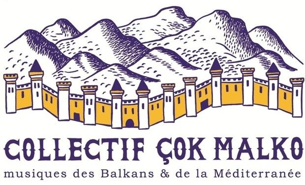 Visuel du projet Collectif Çok Malko - Aide à la Diffusion des musiques des Balkans & de la Méditerranée