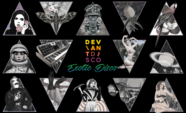 Visuel du projet Extra! Deviant Disco plays Exotic Disco