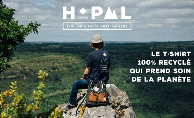 Project visual Hopaal : le T-shirt 100% recyclé