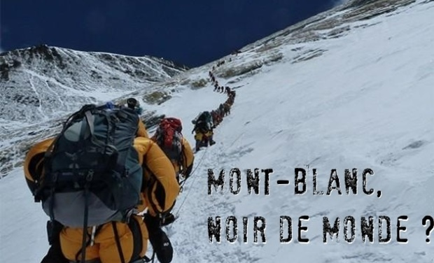 Project visual Mont-Blanc, Noir de monde ?