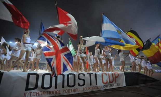 Project visual Projet Donosti Cup