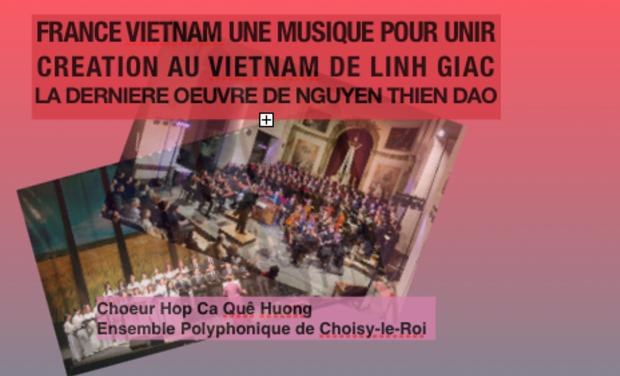 Visuel du projet UNE MUSIQUE POUR UNIR : CREATION MUSICALE AU VIETNAM