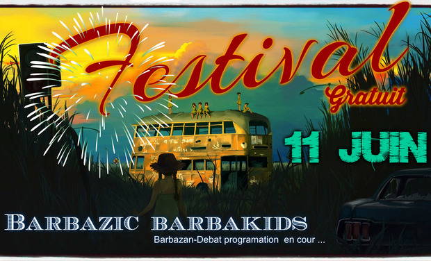 Project visual Festival Barbazic/Barbakids du 11 juin 2016