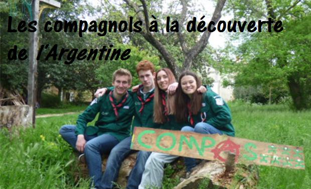 Project visual Les compagnons de Bagnols sur Cèze en Argentine !