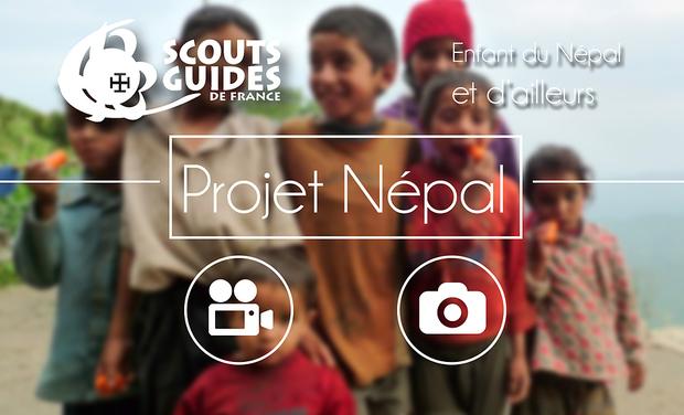 Visuel du projet Projet Solidaire avec Les enfants du Népal