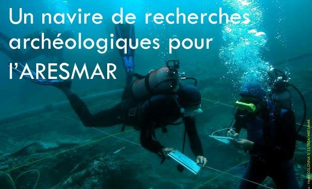 Visueel van project Un navire de recherches archéologiques sous-marine sur la Côte Catalane