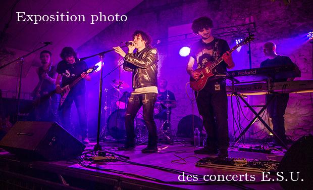 Visuel du projet Exposition photo des concerts ESU