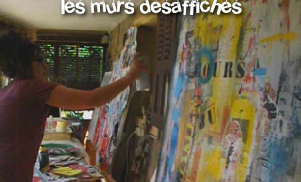 Project visual LES MURS DESAFFICHES par Wanda Calassi