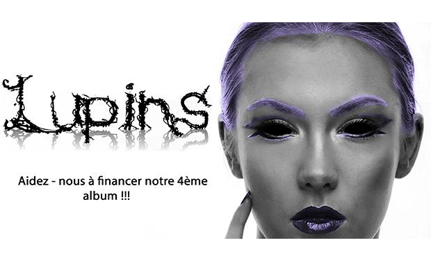 Project visual Lupins ! Aidez-nous à finaliser notre 4ème album !