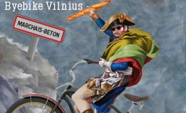 Visuel du projet Byebike Vilnius