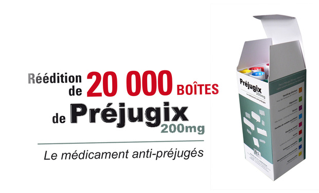 Project visual Réédition de 20 000 boîtes de Préjugix 200mg