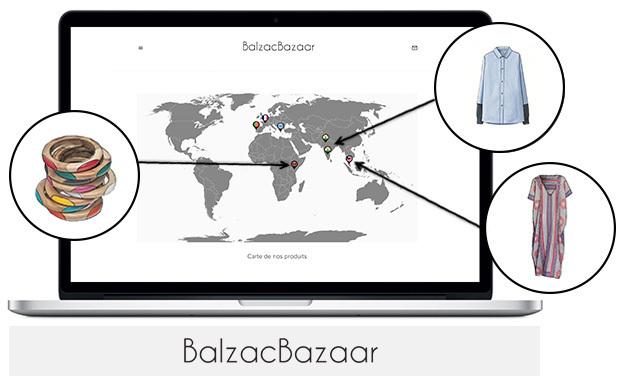 Project visual BalzacBazaar