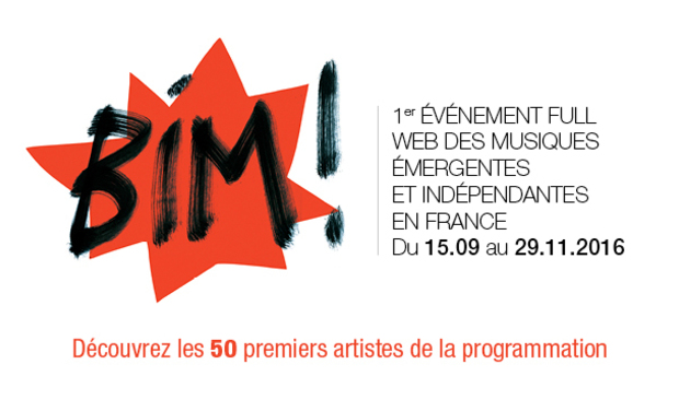 Project visual BIM!, le 1er événement musical full web