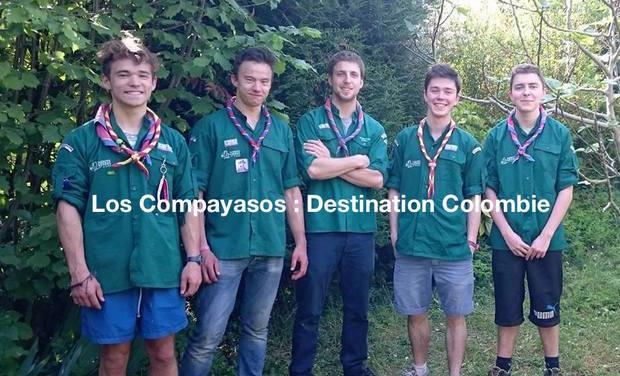 Visueel van project Los Compayasos : destination Colombie