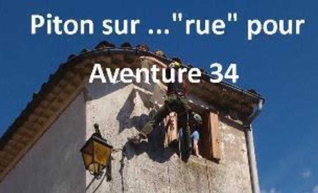 """Visuel du projet Piton sur ...""""rue"""" pour Aventure 34"""