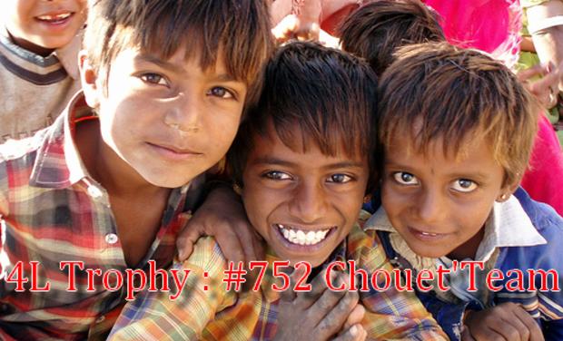 Visuel du projet 4L Trophy : #752 Chouet'Team