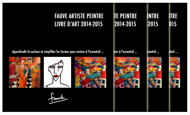 Project visual Art Book Fauve