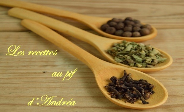 Project visual Les recettes au pif d'Andréa