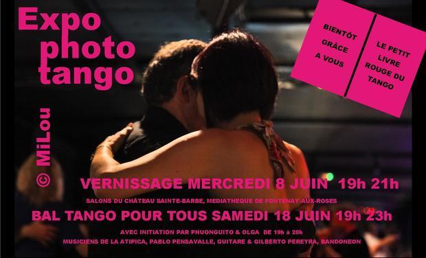 Visuel du projet A L'OMBRE DU TANGO, photos MiLou, textes Hélène