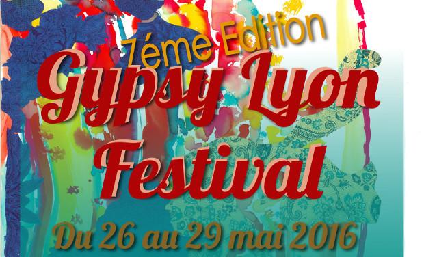 Visuel du projet Gypsy Lyon Festival - 7ème édition !