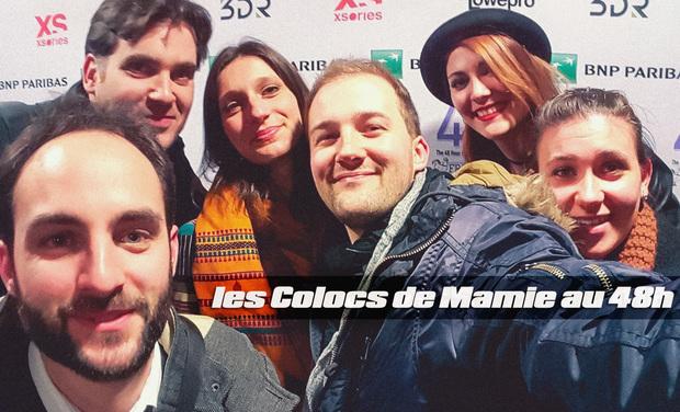 Visuel du projet LES COLOCS DE MAMIE au 48H